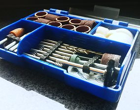 3D print model Dremel Tool Organizers 5 6 and 7