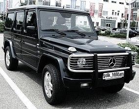 Mercedes-Benz SUV car model 3dm file