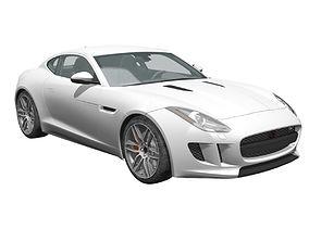 Jaguar F-TYPE 2017 3d Models