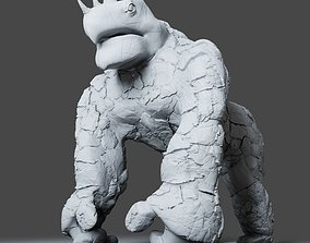zbrush Gorilla Turtle Monster - 3D Print Model
