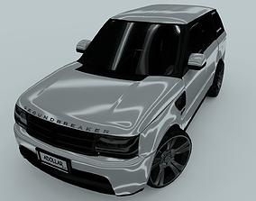 3D Range Rover Sport 2006