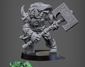 3D printable model Tusk Fieryhammer