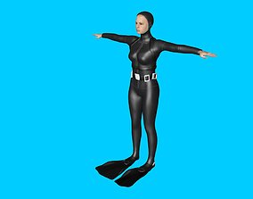 3D model animated Underwater
