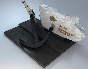 3D Monument of Black Sea Shipping