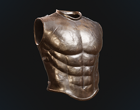 3D asset Greek armor