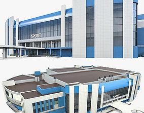 Sports Complex 03 3D asset