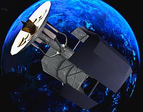 Space Telescope Satelite 3D asset