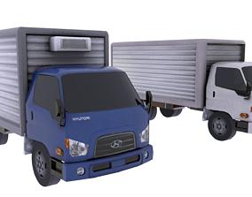 Hyundai Mighty 3D asset