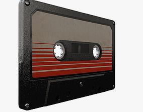 Vintage Cassette 3D model