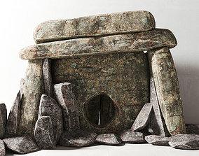 Dolmen stone 3D model