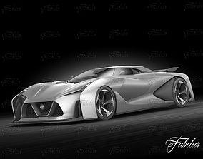 Nissan 2020 concept 3D model
