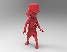 3D printable model Officer Jenny from pokemon saga