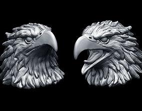Eagle heads 3D print model