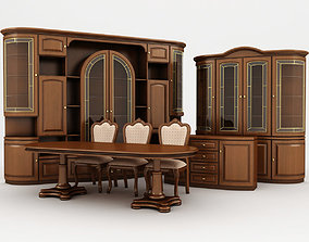 drawing-room suite 01 3D model