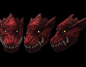 3D print model Odogaron Mask from Monster Hunter