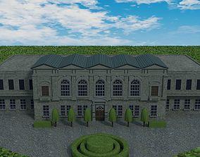 3D model Building - Manor