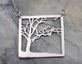 Pendant Tree 3D printable model