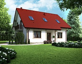 House home model 3d dom 2