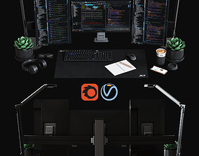 Desktop Set IT Specialist Edition 3D