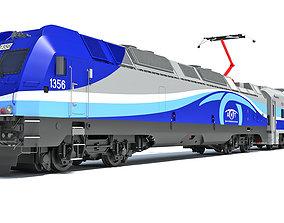 3D model Exo Montreal Passenger Train