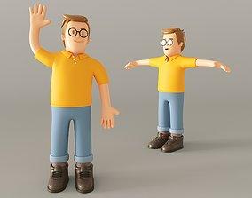 toy Cartoon Man 3D
