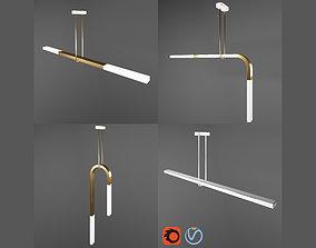 suspension 3D Minimal Light LED