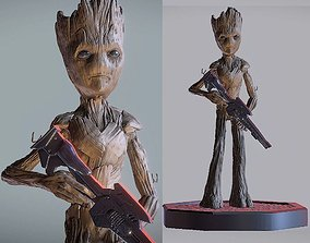 TEENAGE GROOT INSPIRITED MODEL figurines