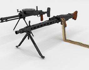3D WW2 Machine Gun Pack