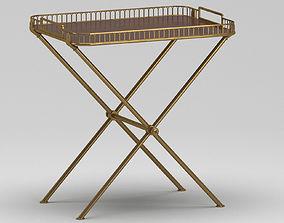 3D model Metal Table-Trail