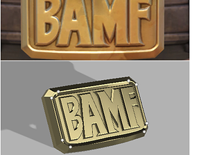Mccree belt buckle 3dprinting