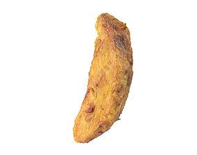 photorealistic Photorealistic Fried Potato Wedge 3D Scan 2