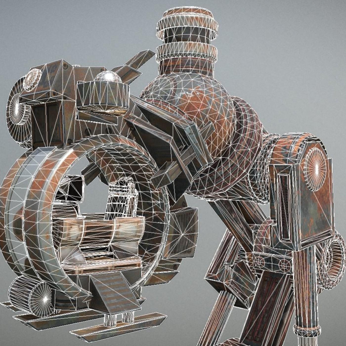Mech Neck Walker Design