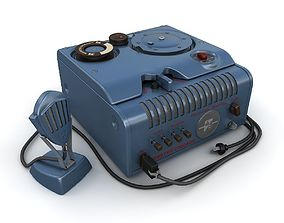 3D model Wire recorder