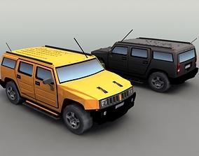 4x4 SUV Generic 3D asset
