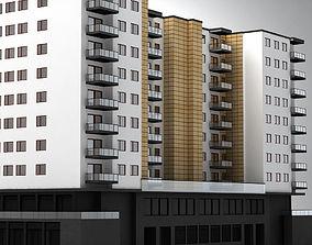 3D Apartment building famous