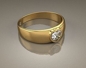 3D Ring Malia Heart