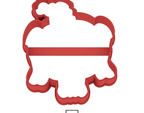3D print model Smeshariki Nyusha cookie cutter for