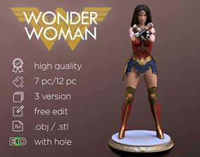 3D print model super Wonder Woman