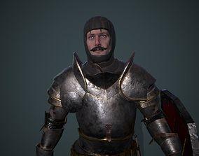 3D asset Knight 5 PBR UE4 Unity