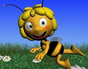 3D asset Maya the bee RIGGED