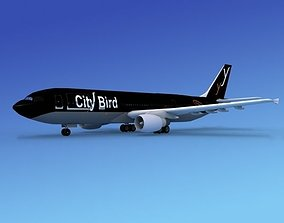 Airbus A300 City Bird 3D