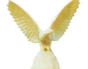 3D Decorative Hawk Figurine