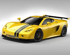 3D model Ascari A10