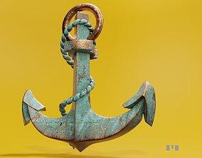 3D model ship Anchor