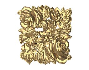 luxury decorative pattern ready for 3D printing