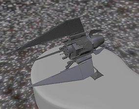 Simple Space Shuttle 3D print model