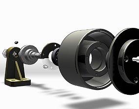 3D Belt Tensioner Pulley