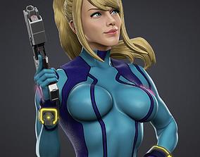 Samus Zero suit 3D Model