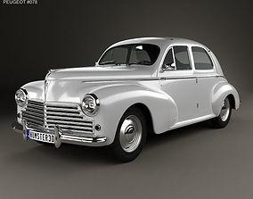 3D Peugeot 203 1948