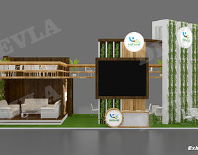 Exhibition stall 08 3D model